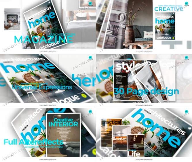 杂志宣传片AE模板.jpg
