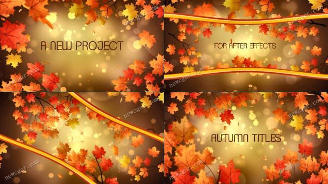 秋天的标题AE模板.jpg