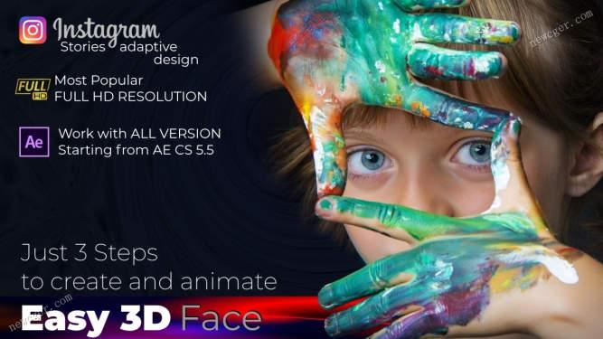 为图片创建3D效果AE模板.jpg