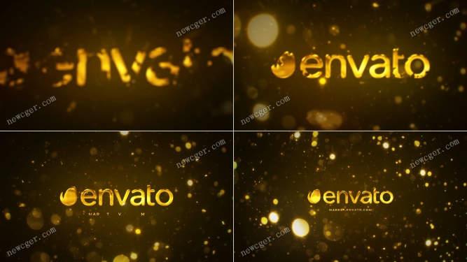 金色光片标志AE模板.jpg