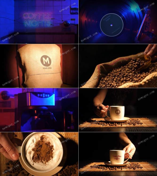 家里的咖啡之夜AE模板.jpg