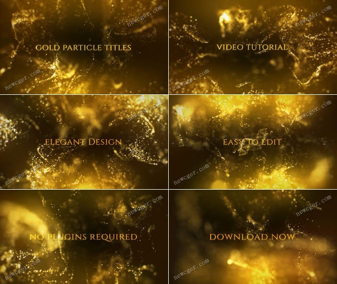 金色粒子标志AE模板.jpg