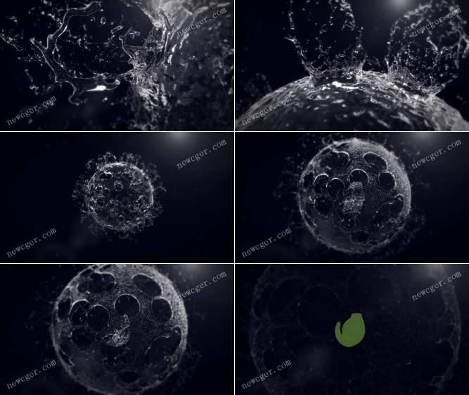 爆破的流体水花标志特效.jpg