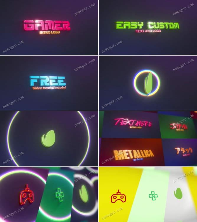 复古怀旧游戏标志AE模板.jpg
