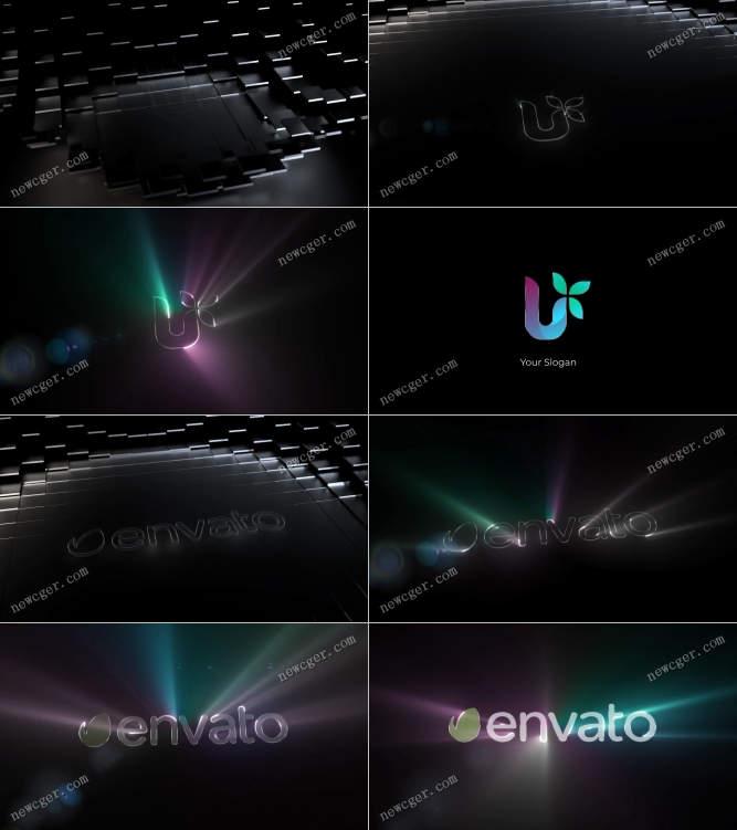 光线标志动画AE模板.jpg