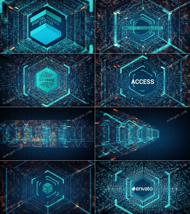 六边形隧道开场AE模板.jpg