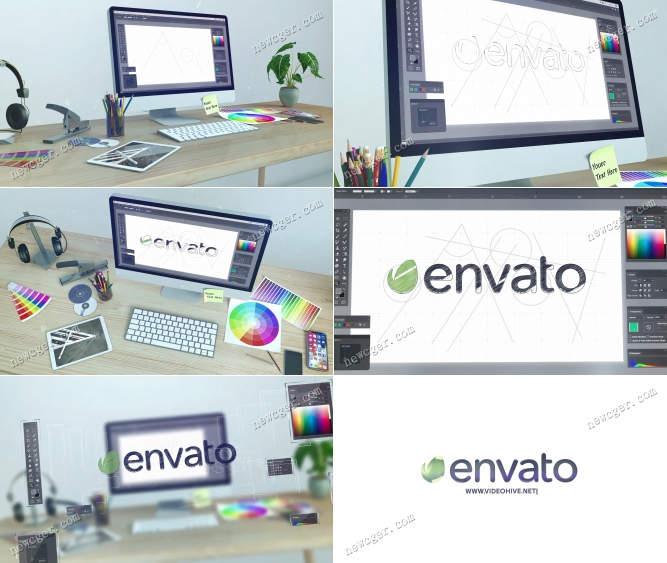 标志设计的动画AE模板.jpg