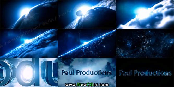 ae cs6迅雷下载_好莱坞般震撼大气的宇宙穿梭电影片头AE模板_新CG儿 - 数字视觉 ...