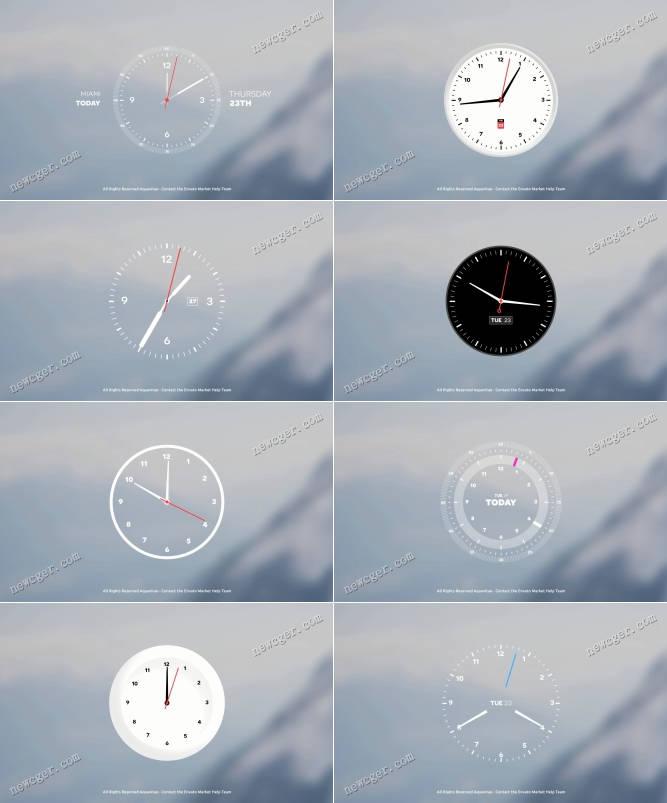 时钟的制作AE模板.jpg